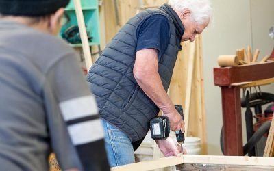 Local Group Starts Men's Shed