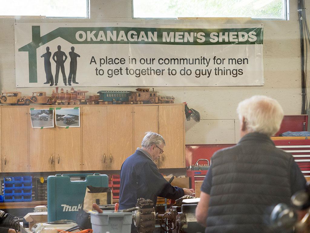 Okanagan Men's Shed Shop
